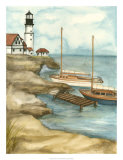 Shoreline Dock I Giclee Print by Jennifer Goldberger
