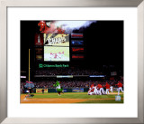 Citizens Bank Park Game 5 of the 2008 World Series Framed Photographic Print