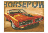 Vintage Muscle I Posters by Ethan Harper