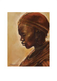 Masai Woman II Posters by Jonathan Sanders