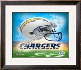 2009 San Diego Chargers logo Framed Photographic Print
