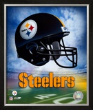 Pittsburgh Steelers Helmet Logo ©Photofile Framed Photographic Print