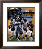 2004 Chargers AFC West Champ.Composite Framed Photographic Print