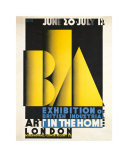Exhibition of British Industrial Art in the Home Poster by Austin Cooper