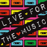 Live For The Music Prints by Louise Carey