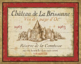 French Wine Labels I Art by Daphne Brissonnet