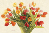 Spring Tulips Poster by Shirley Novak