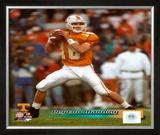 Peyton Manning University of Tennessee Volunteers Action Framed Photographic Print
