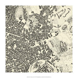City of Rome Grid V Giclee Print