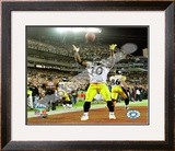 Santonio Holmes - Super Bowl XLIII Framed Photographic Print