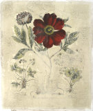 Peony Fresco I Giclee Print by Besler Basilius
