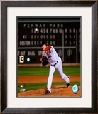 Jon Lester's 2008 No Hitter Action; Horizontal Framed Photographic Print