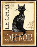 Le Chat Poster by Veronique Charron