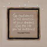 Go Confidently Posters van Karen Tribett