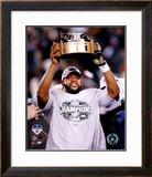 Donovan McNabb - 2004 NFC Championship Trophy Framed Photographic Print