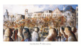 Paseo Barcelona Prints by Didier Lourenco