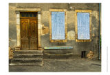 Weathered Doorway V Print by Colby Chester