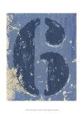 Vintage Numbers VI Print by Ethan Harper