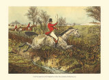 The English Hunt I Posters par Henry Alken