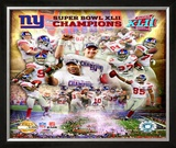 New York Giants- Super Bowl XLII Framed Photographic Print