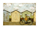 Off for a Breakfast Poster by Sam Toft