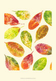 Vibrant Leaves I Poster by Luisa Tosini