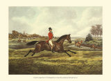The English Hunt V Posters by Henry Alken
