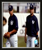 Alex Rodriguez and Derek Jeter - 2004 Spring Training ©Photofile Framed Photographic Print