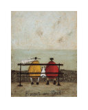 Bums on Seat Print by Sam Toft