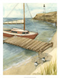 Shoreline Dock II Giclee Print by Jennifer Goldberger