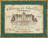 French Wine Label IV Art by Daphne Brissonnet