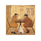 Tea for Three Posters by Sam Toft