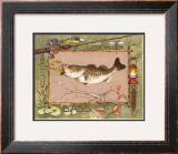 Large Mouth Bass Prints by Anita Phillips