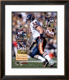 Brian Urlacher - 2005 Scrapbook Framed Photographic Print