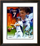 John Elway - Legends of the Game Composite - ©Photofile (Limited Edition) Framed Photographic Print