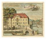 Scenes of the Hague III Giclée-Druck von G. Van Der Giessen