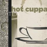 Hot Cuppa Tea Kunst von Tandi Venter