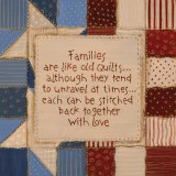 Family Quilts Posters by Karen Tribett