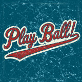 Play Ball Posters by Peter Horjus