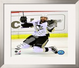 Maxime Talbot Game 7 of the 2008-09 NHL Stanley Cup Finals Framed Photographic Print