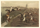 The Grand Steeple Chase II Print by Francis Calcraft Turner
