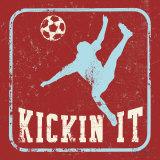 Kickin It Poster autor Peter Horjus