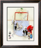 Marc-Andre Fleury Game 7 of the 2008-09 NHL Stanley Cup Finals Framed Photographic Print