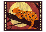 Woodblock Leopard Prints by Benjamin Bay