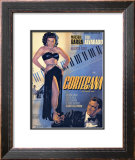 Classic Mexican Movie: Courtesana with Mecedes Barba Framed Giclee Print