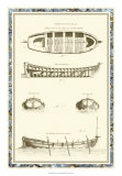 Ship Schematics IV Giclee Print