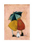 A Sneaky One Print by Sam Toft