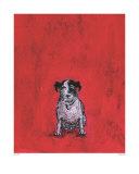 Kleiner Hund Poster von Sam Toft