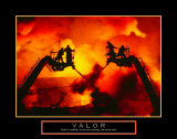 Valor: Firefighter Posters