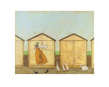 Doris Brings Up the Rear Posters par Sam Toft